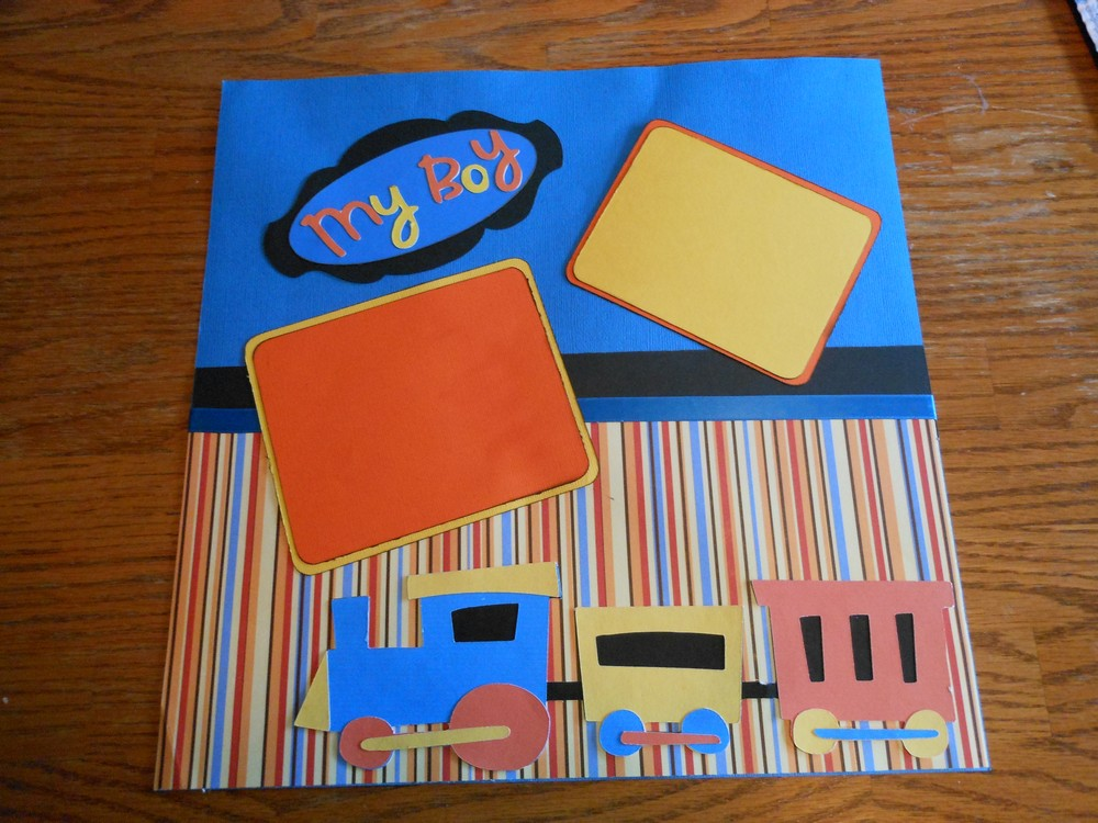 Personalized Scrapbook Pages