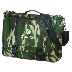"16"" Deluxe Camo Poly Expandable Briefcase"